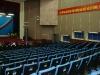Hội trường nhà văn hóa tỉnh trước giờ khai mạc